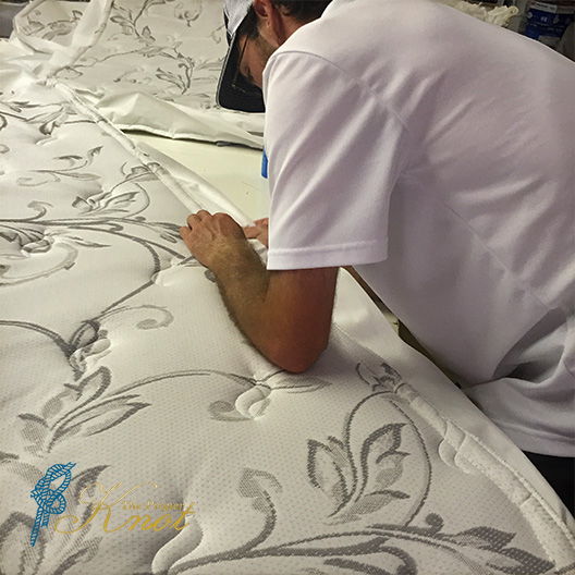 Custom Yacht Mattress by The Proper Knot