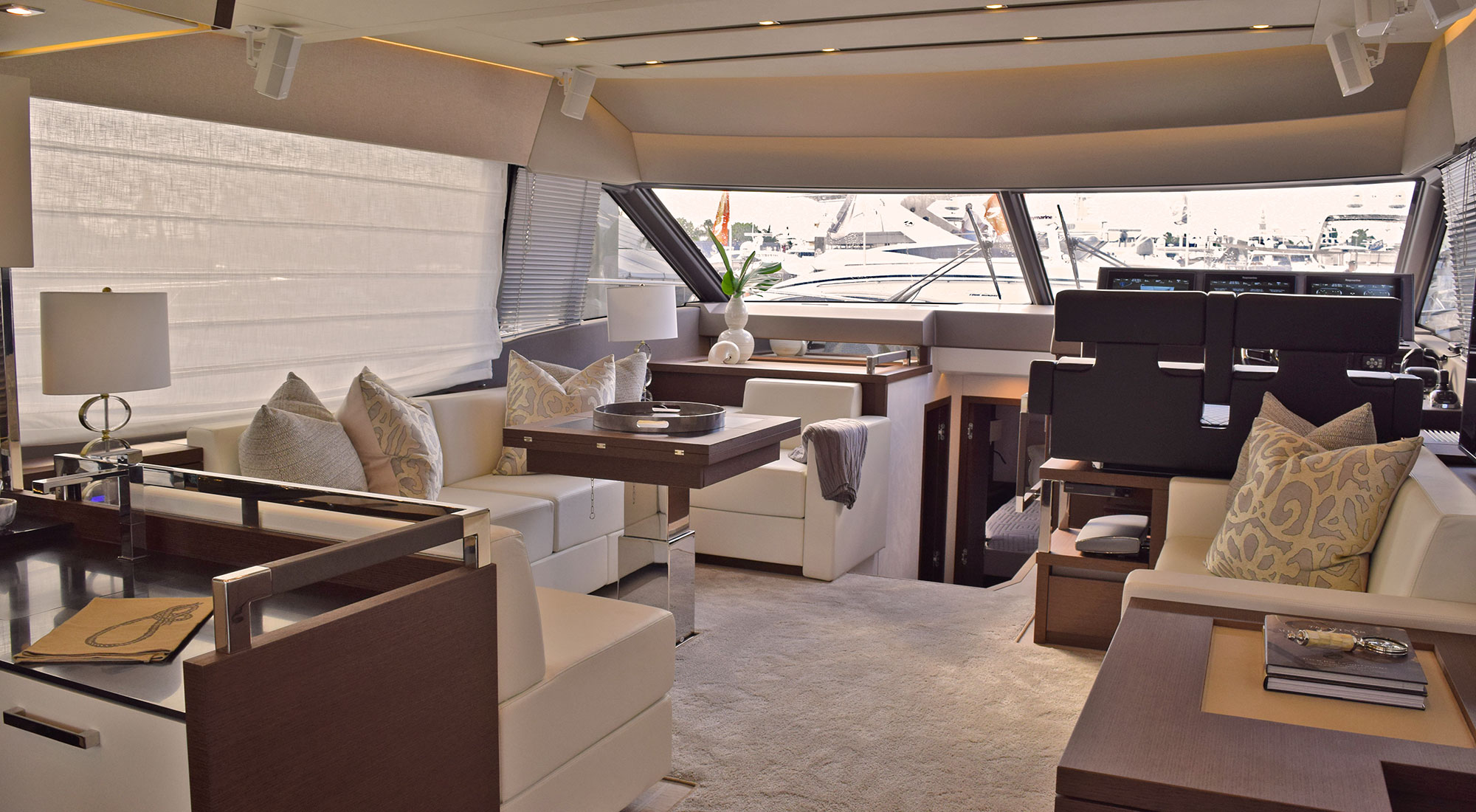 Yacht Interior Design by The Proper Knot