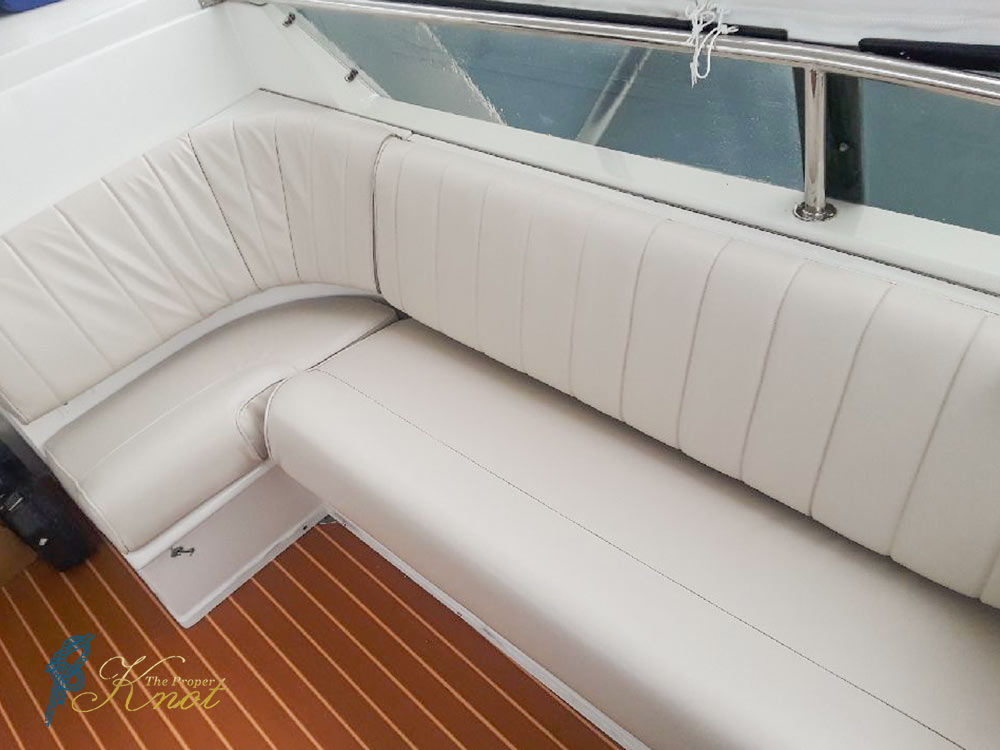 Marine Canvas Flybridge Sofa