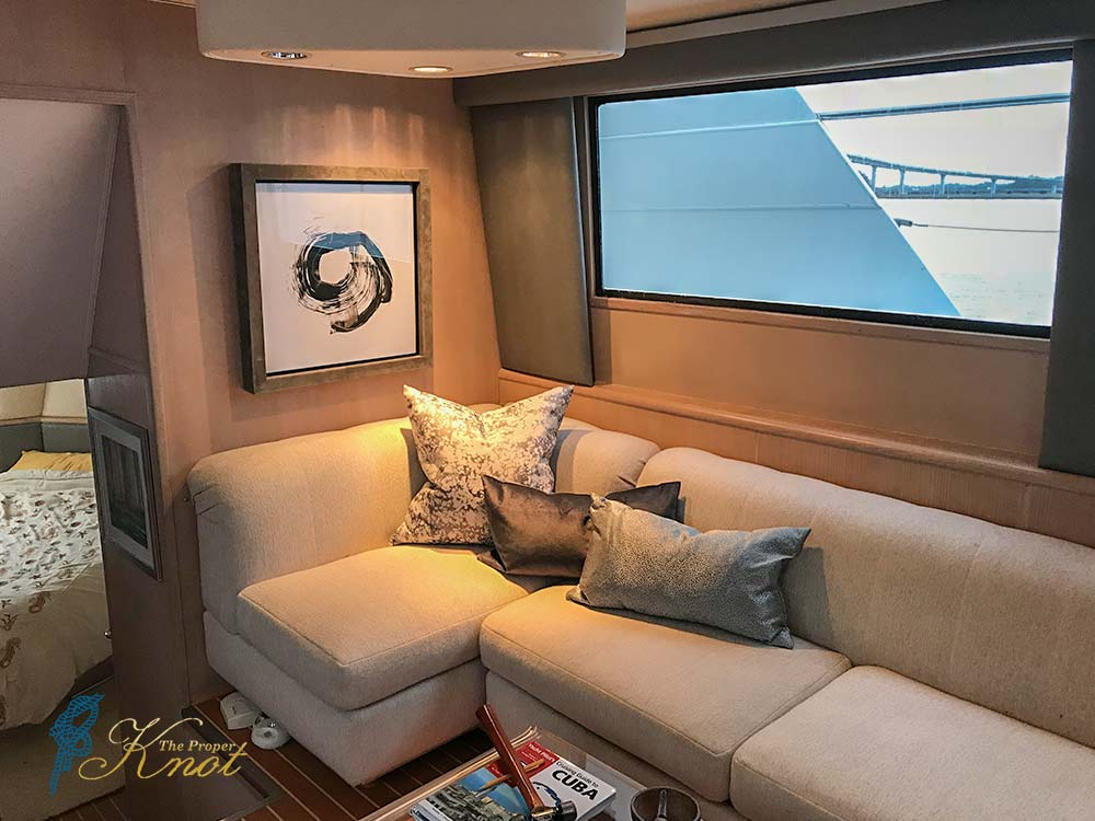 Marine Canvas Hatteras Sofa